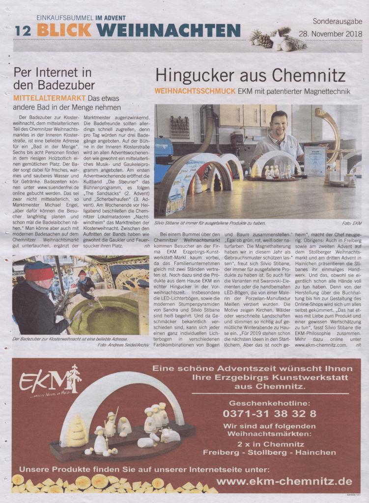 EKM der Hingucker aus Chemnitz - Presse Blick