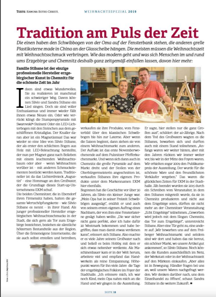 EKM - Am Puls der Zeit - Presse Stadtstreicher