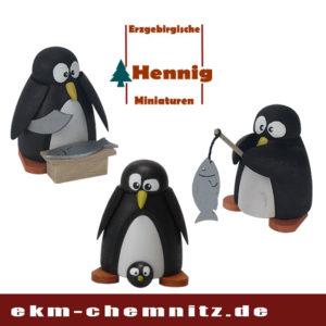 Sammlerfiguren Pinguine