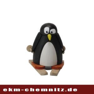 Ein sportlicher Pinguin auf Ski als Sammlerfigur für alle Pinguinliebhaber.