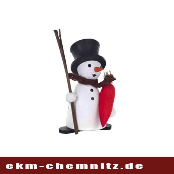 Eine wundervolle Sammelfigur aus der Gruppe der Drechselfiguren ist der Schneemann mit Möhre. Ein toller Zusatz für Ihre Figurengruppe.