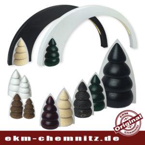 Unser Design-Element Massivholzbaum bieten wir in verschiedenen Größen und Faarben für unsere LED Lichterbögen an.