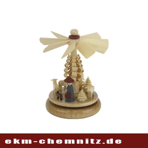Zum Produkttyp Miniaturen gehört das Wärmespiel Hirte mit Schafen