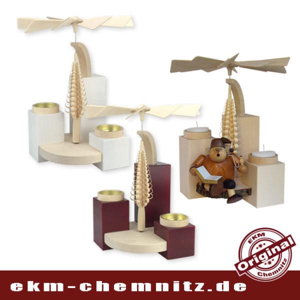 Die tollen modernen Stumpen-Pyramiden in großem Format sind unbestückt und in verschiedenen Farben zu finden. Sie sind unbestückt und werden mit nur zwei Teelichtern betrieben und laufen einwandtfrei.